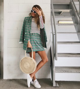 Daily Style Diaries: Trick To Mixing Prints and Colors