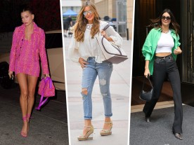 Celebs Show Off a Mix of New and Old Bags From Bottega Veneta, Celine and More
