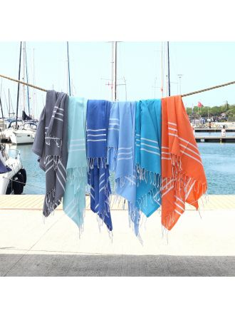 Alara Turkish Pestemal Beach Towel