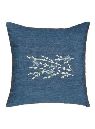 Braelyn Denim Decorative Pillow Cover